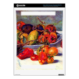 Still life with tropical fruits by Pierre Renoir Xbox 360 Decals