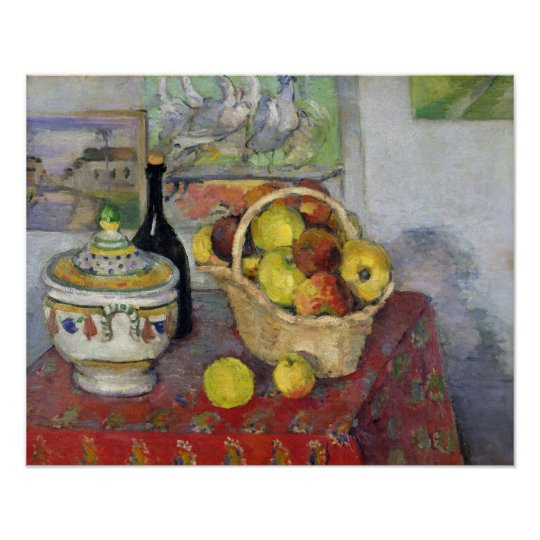 Still Life with Tureen, c.1877 Poster