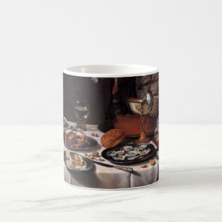 Still Life with Turkey Pie - Pieter Claesz Classic White Coffee Mug