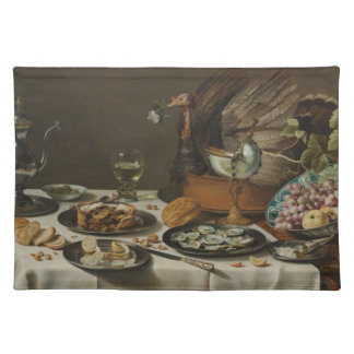 """""""Still Life With Turkey Pie"""" placemats"""