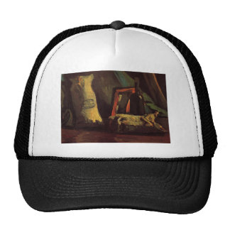 Still Life with Two Sacks and a Bottl by Van Gogh Trucker Hat