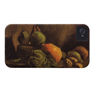 Still Life with Vegetables and Fruit by Van Gogh iPhone 4 Cover