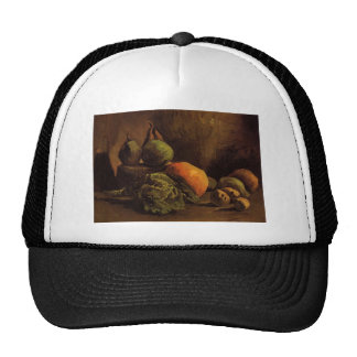 Still Life with Vegetables and Fruit by Van Gogh Trucker Hat