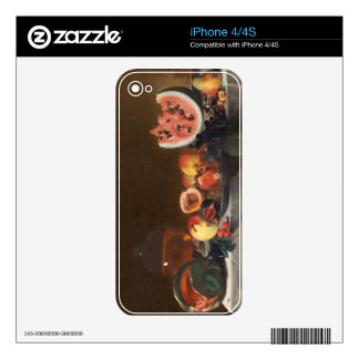 Still life with watermelons and carafe decals for iPhone 4S