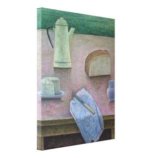 Still Life with Wensleydale Cheese 2013 Canvas Print