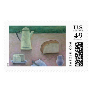 Still Life with Wensleydale Cheese 2013 Postage