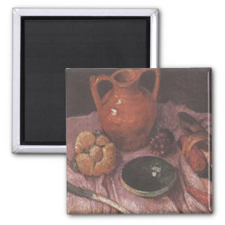 Still life with yellow jug - Paula Modersohn-Becke Magnet