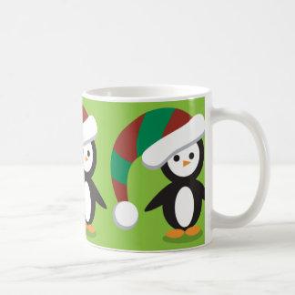 Still more Christmas Penguins Coffee Mug