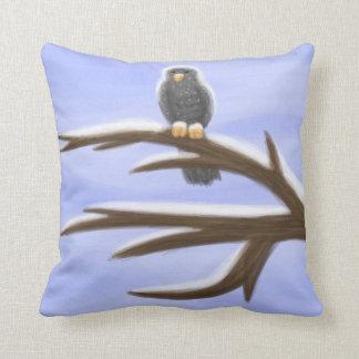 Still Morning Snow Pillow