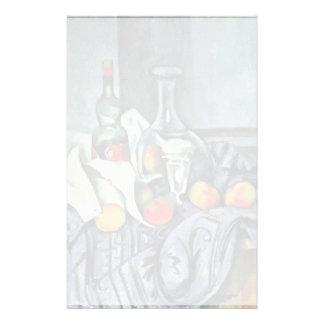 Still Peppermint Bottle By Paul Cézanne Stationery Design