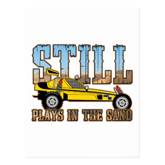 Still Plays in the Sand Postcard