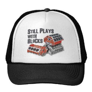 Still Plays With Blocks Trucker Hat