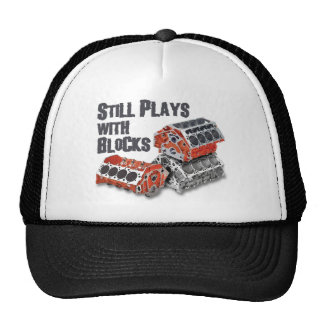 Still Plays With Blocks Trucker Hat