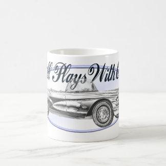 Still Plays With Cars Coffee Mug