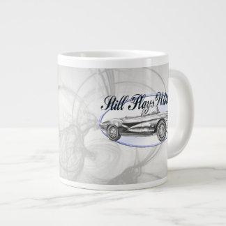 Still Plays With Cars Large Coffee Mug