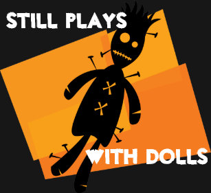 still plays with dolls