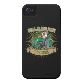 Still Plays With Green Tractors Case-Mate iPhone 4 Case