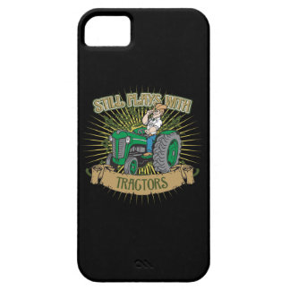Still Plays With Green Tractors iPhone SE/5/5s Case