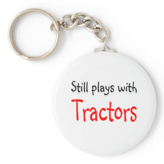 Still plays with Tractors Keychain