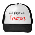 Still plays with Tractors Mesh Hat
