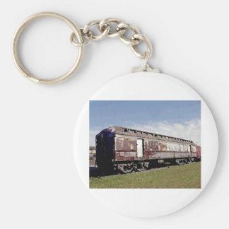 Still Plays With Trains Basic Round Button Keychain