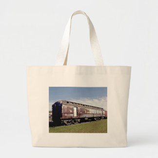 Still Plays With Trains Large Tote Bag