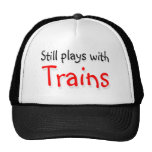 Still plays with trains mesh hats