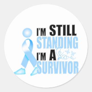 Still Prostate Cancer Survivor Classic Round Sticker