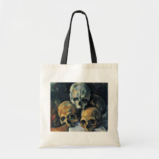 Still Pyramid Of Skulls By Paul Cézanne Bags