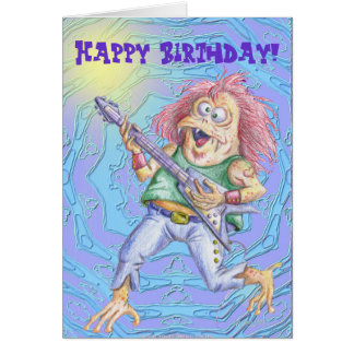 Still Rockin' After All These Years Greeting Card