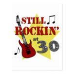 Still Rockin' At 30 Postcard