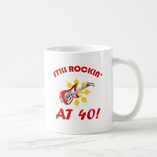 Still Rockin' At 40! Coffee Mug