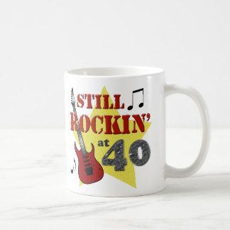Still Rockin' at 40 Classic White Coffee Mug
