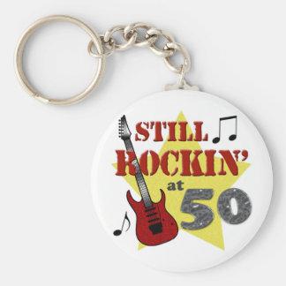 Still Rockin' At 50 Keychain