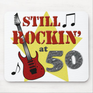 Still Rockin' At 50 Mouse Pad
