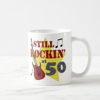Still Rockin' At 50 Classic White Coffee Mug