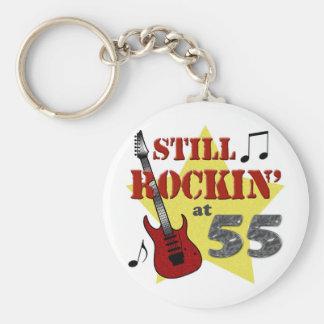 Still Rockin' At 55 Keychain