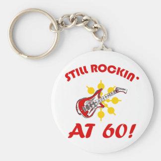 Still Rockin' At 60! Keychain