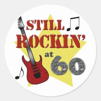 Still Rockin' At 60 Sticker