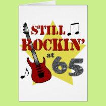 Still Rockin' at 65 Card