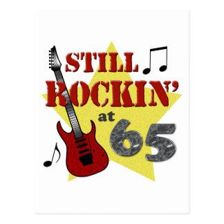 Still Rockin' at 65 Postcard