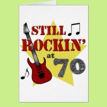 Still Rockin' At 70 Card