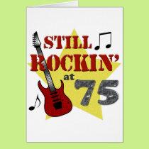 Still Rockin' At 75 Card
