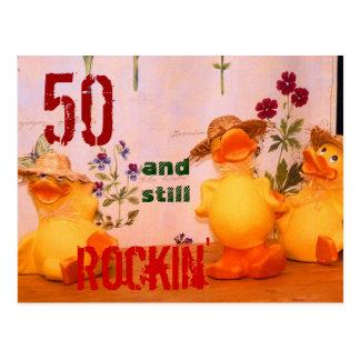 Still Rockin' Post Card