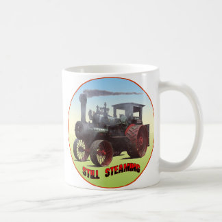 Still Steaming Traction Engine Coffee Mug