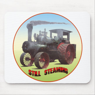 Still Steaming Traction Engine Mouse Pad