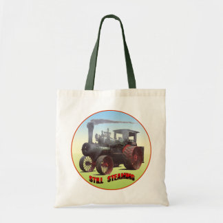 Still Steaming Traction Engine Tote Bag