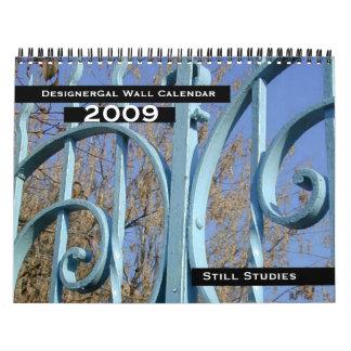Still Studies Wall Calendar