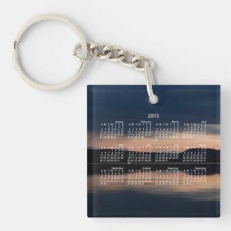 Still Sunset; 2013 Calendar Keychain