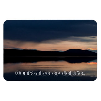 Still Sunset; Customizable Magnet